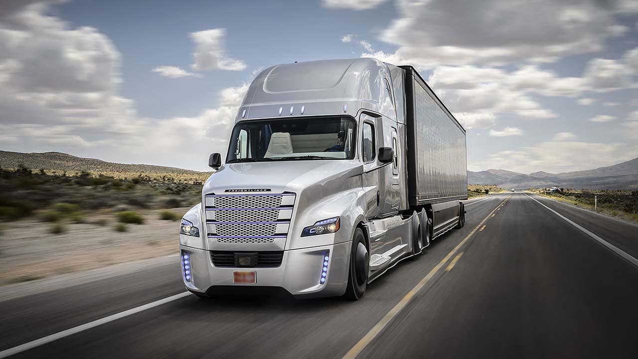 camiones de carga automáticos