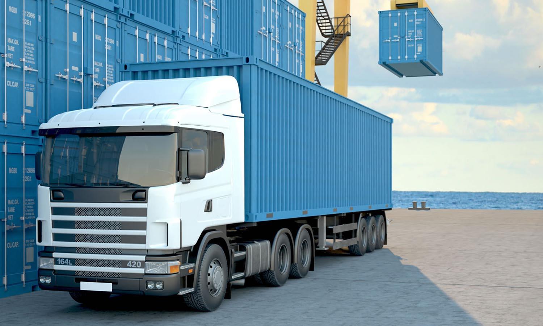 negocio de transporte de carga nacional e internacional