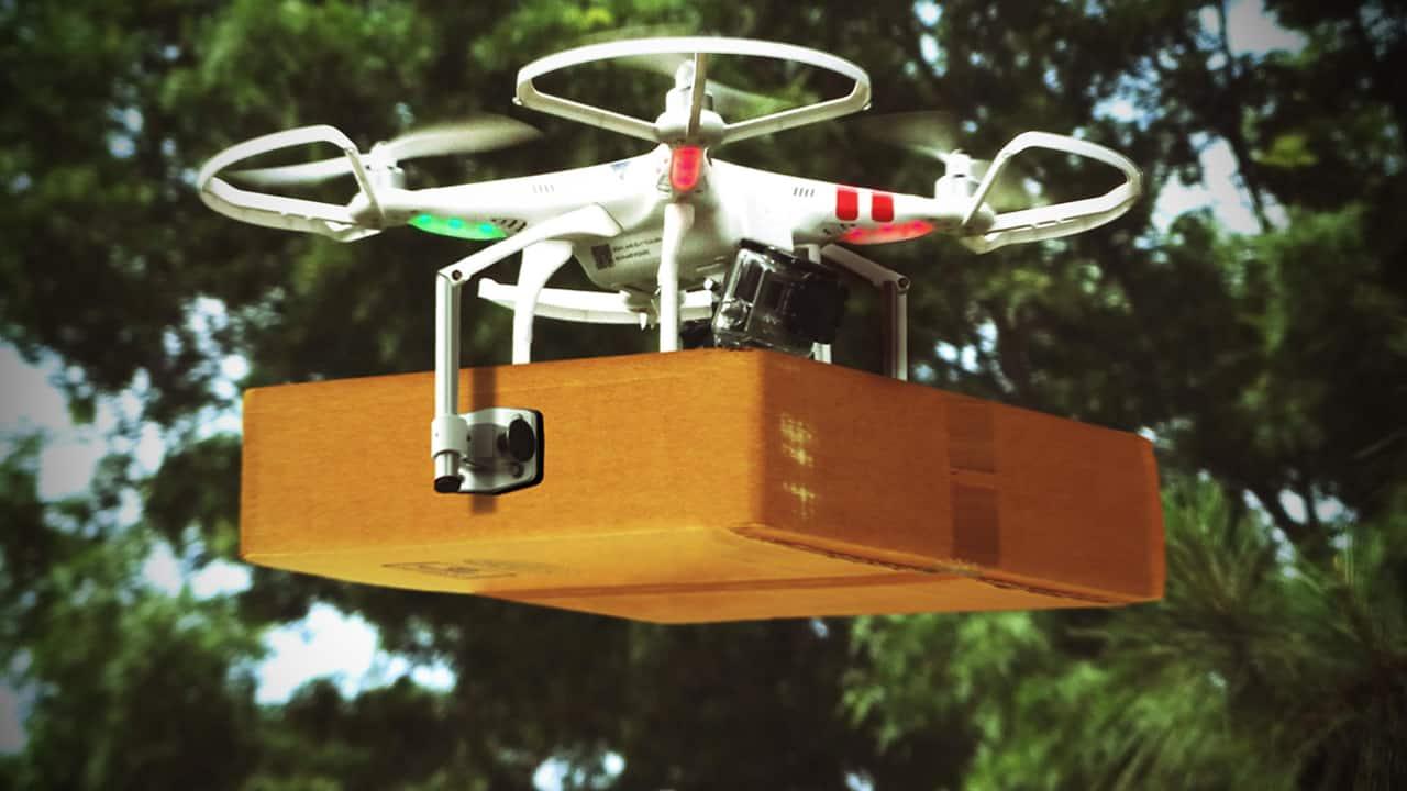 Robótica en logística: drones