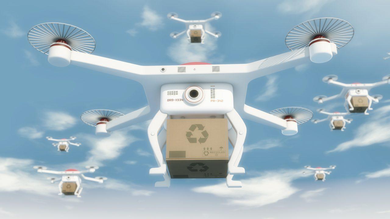 Drones para la robótica en logística